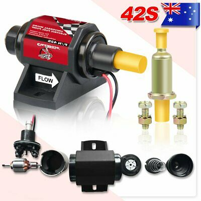 Universal 12V Electric Fuel Pump Inline Petrol Low Pressure Au Post& 5Yr Warraty