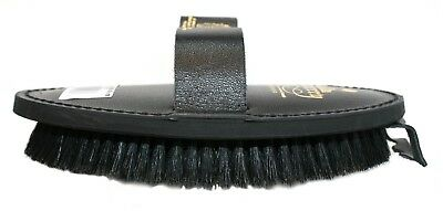 Body Brush Leather Back Equerry