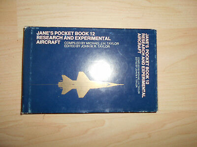 Jane`s Pocket Book 12 Research and Experimental Aircraft