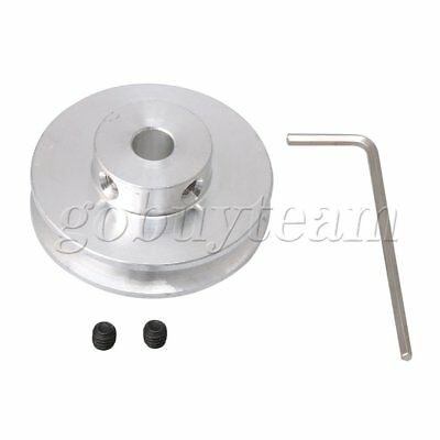 7mm Hole Dia V-shape Pulley Wheel DIY Drilling Machine Replacement Part