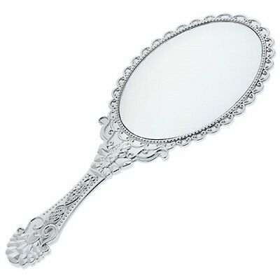 Vintage Fancy Style Hand-Held Mirrors with Handles, 10 in.
