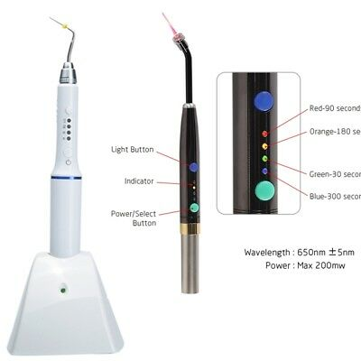 Dental Endo Heal Laser Photo-Activated Disinfection+Gutta Percha Heated Pen Kit