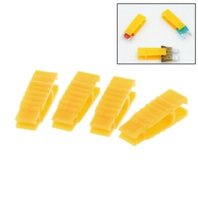 4Pcs ABS Fuse Automobile Car Fuse Fetch Clip Timeproof Extractor Puller Tool