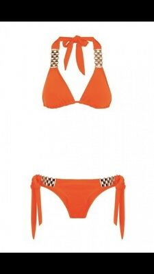 0428e1106f3c3 BAHIMI BIKINI LARGE Top With Medium Bottoms - £22.50 | PicClick UK