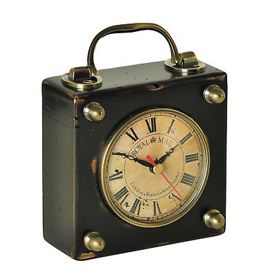 Authentic Models SC045 Royal Mail Travel Clock Victorian England Style