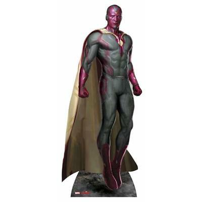Avengers Movie Age of Ultron Pappaufsteller (Stand Up) - Vision ( 189 cm)