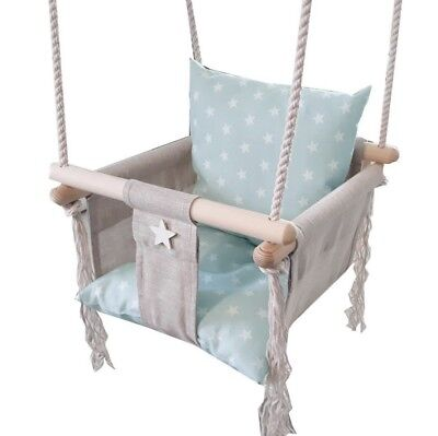 Baby Chair Seat Baby Swing Toddler Wooden Swing Child Toy