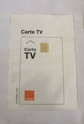 Carte Tv ORANGE Neuve Bein/OCS/Cine+ Active 3 Semaine Fonctionne ORANGE / SOSH