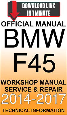 #download Service And Repair Official Workshop Manual Bmw 2 Series F45 2014-2017