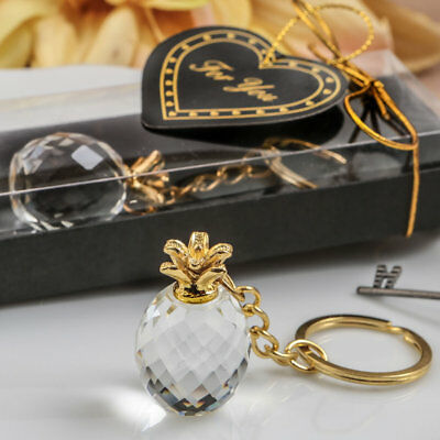 FASHIONCRAFT Choice Crystal Pineapple key chain From The Warm Welcome Collection