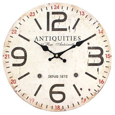 Something Different Distressed Look Antiquities Wall Clock