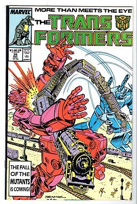 Transformers #35, Near Mint Minus Condition