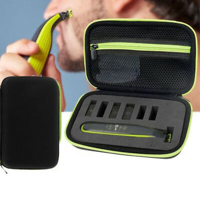 Black Shaver Storage Carrying Case Box Carry Bag For Philips OneBlade Pro Razor