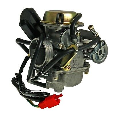 Carburettor 24 Chinese Scooter 125/150Cc For China Motor 152QMI GY6 125 4T