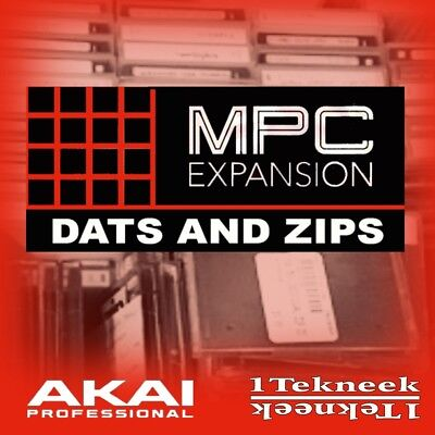 Akai MPC Expansion Pack Dats and Zips