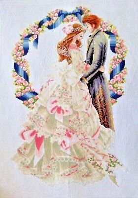 "New Completed finished Cross stitch""Beauty Wedding""home decor gifts"