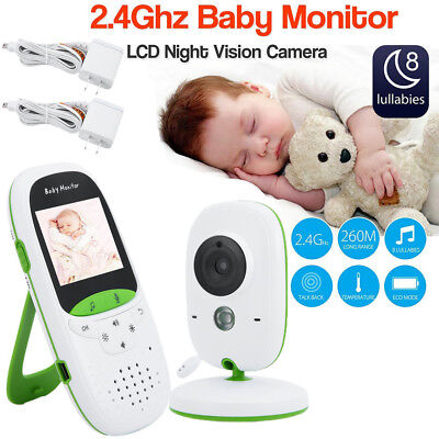 2.0inch LCD Wireless Baby Monitor System Camera & Video Child Home Monitoring BR