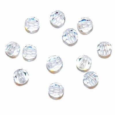 SCR2178 Lavender Blue 3mm Faceted Round Swarovski Crystal Beads 12pc