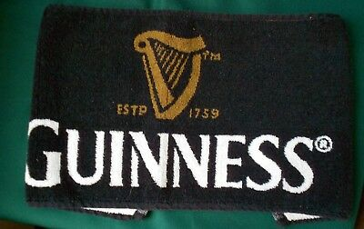 New Guinness Bar Golf Towel Mat with tags