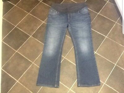 Women's underbump NEXT Maternity Bootcut Jeans , size 16 with L30