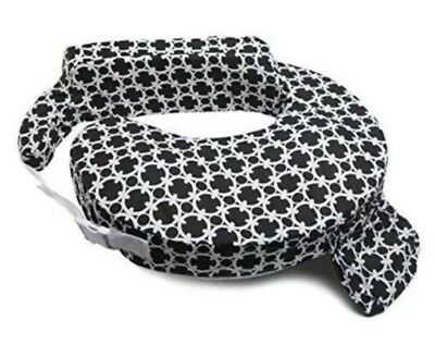 My Brest Friend Travel Inflatable Nursing Pillow - Black and White Marina