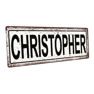 "/""CHRISTOPHER/"" WOODEN NAME SIGN BABY NURSERY SHOWER DECOR PERSONALIZED SHABBY"