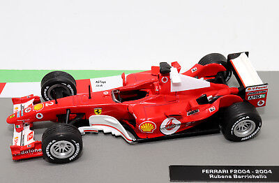 Formula 1 The Car Collection Ferrari F2004 2004 Rubens Barrichello 1