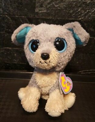 98a142e86ae Ty Beanie Boo Ultra Rare Scraps The Puppy Dog With Pink Tag Vgc Very Hard 2