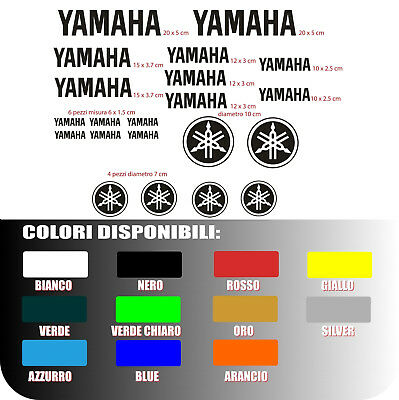 kit adesivi per moto scooter yamaha R1  R6 tmax x max stickers sped corriere