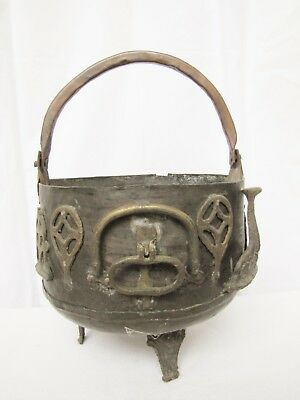 Antique Bronze /Brass and Metal Pot