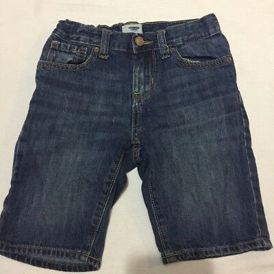 Old Navy Boys Denim Blue Jeans Shorts Size 7