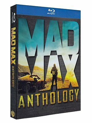 Mad Max Anthology (4 Blu-Ray Disc + DVD) - ITALIANO ORIGINALE SIGILLATO -