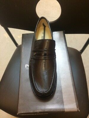 Roamers Mens Very Easy  Leather Slip On Loafer Shoes Size  12