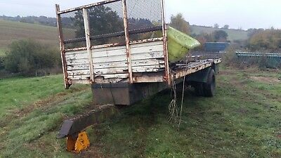 12T agricultural farm bale  trailer twin wheel