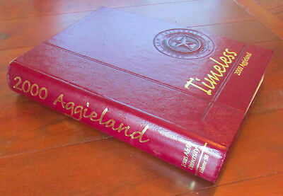Aggieland Yearbook 2000 Texas A&M University College Station TX Bonfire Tragedy