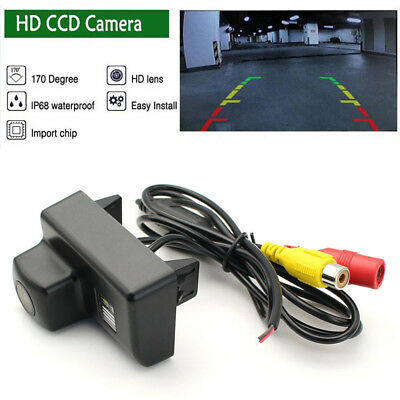 HD CCD Auto Reversing Backup Rear View Tracks Parking Camera For Peugeot 307 508