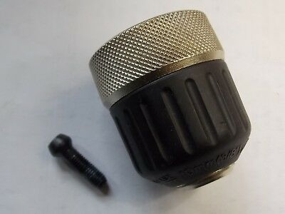 "Dewalt 330075-46 Two Sleeve 3/8"" Jacobs Keyless Drill Chuck With Screw 1/2-20"