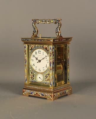 Champleve Grande Sonnierre Repeating Carriage Clock