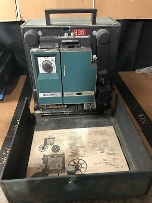 Vintage Bell & Howell Filmsound Model 1585 16Mm Movie Projector Autoload