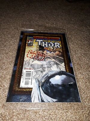 THE MIGHTY THOR ROUGH CUT #1 (1998) from MARVEL COMICS COLLECTORS ISSUE