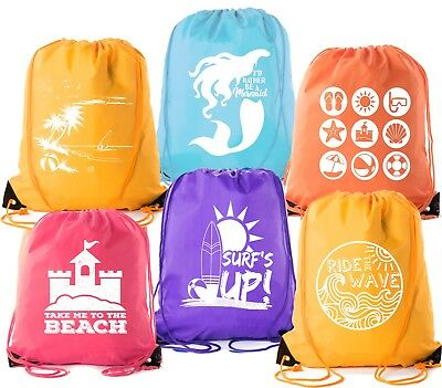 Mato & Hash Summer Pool and Beach Party Drawstring Backpacks For All Ages!