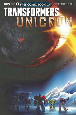 Free Comic Book Day 2018 Transformers Unicron #0 (IDW Comics) NM Barbier Milne