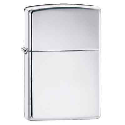 Zippo 167, Armor, High Polish Chrome Finish Lighter, Full Size