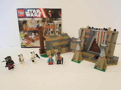 LEGO Star Wars Battle on Takodana (75139) 100% COMPLETE with manual