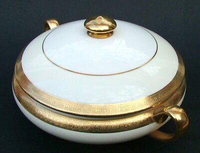 1970's Minton K159 Buckingham Pattern Vegetable Serving Tureen & Lid 30cm in VGC