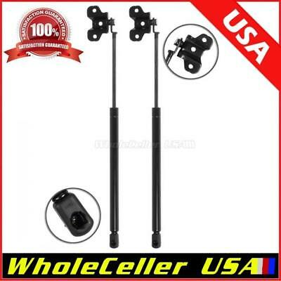 Qty (2) Front Hood Gas Charged Lift Support Struts For 2003-2007 Honda Accord