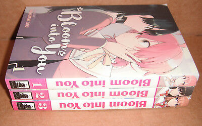 Bloom into You  Vol. 1,2,3 Manga Graphic Novels English