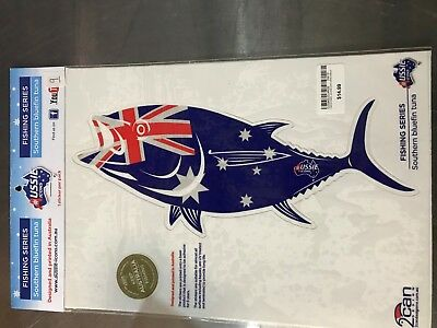 Aussie Icons Fishing Series Southern Bluefin Tuna 1 Sticker per pack RRP $14.99