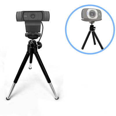 """eCost 7"""" Extendable Mini Tripod for Logitech Webcams C920 C922 and other cameras"""