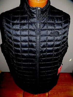 NWT The North Face Men's ThermoBall  Vest BLACK  SMALL, MEDIUM & LARGE & XL $149